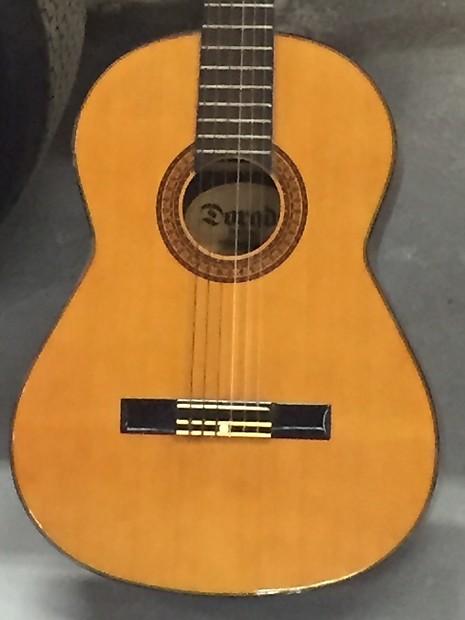 Gretsch 6024 Dorado Classical Guitar C 1972 Natural Reverb