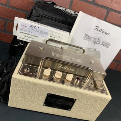 Fulltone TTE Tube Tape Echo w/Padded Carry Bag & Brand New ETC-1 Tape Cartridge