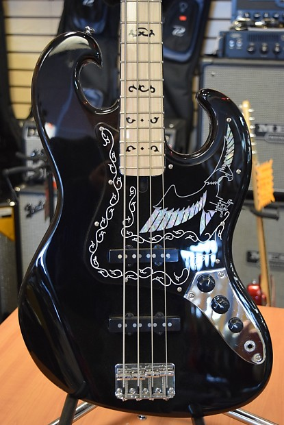 Ibanez Black Eagle Bass Guitar Reverb
