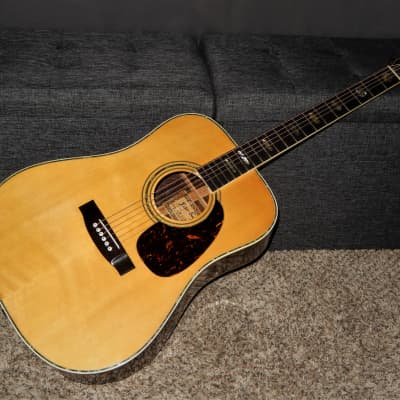 MADE IN 1972 - KISO SUZUKI W350 -  ABSOLUTELY SUPERB ACOUSTIC GUITAR - MARTIN D45 STYLE for sale