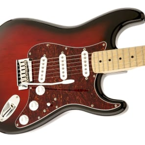 Squier Standard Stratocaster Maple Antique Burst