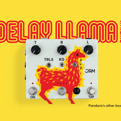 JAM Pedals Delay LLama Extreme XTreme *Free Shipping in the USA*