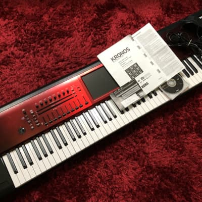Good Condition KORG KRONOS2-88 SE Special Edition Special Color Synthesizer w/HC Used in Japan