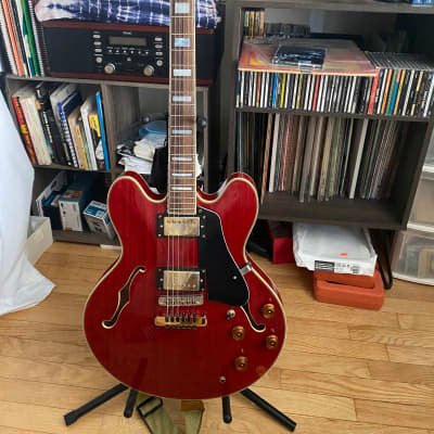 Washburn HB35 1989 MIJ Japan Semi Hollow Archtop for sale