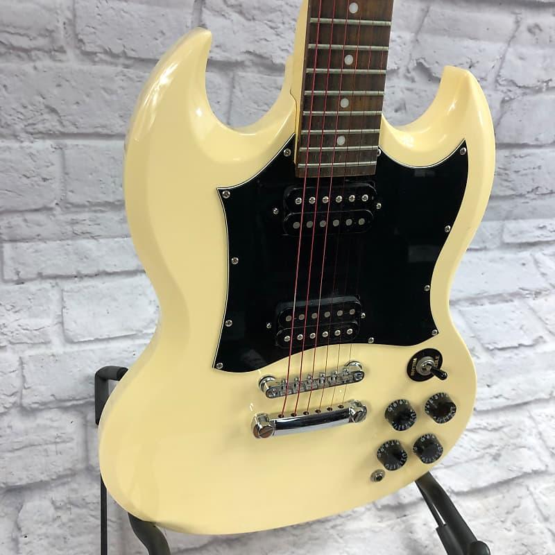 epiphone sg g310 white electric guitar evolution music reverb. Black Bedroom Furniture Sets. Home Design Ideas