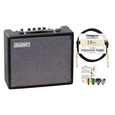 Sawtooth 10-Watt Electric Guitar Amplifier with ChromaCast Cable & Pick Sampler for sale