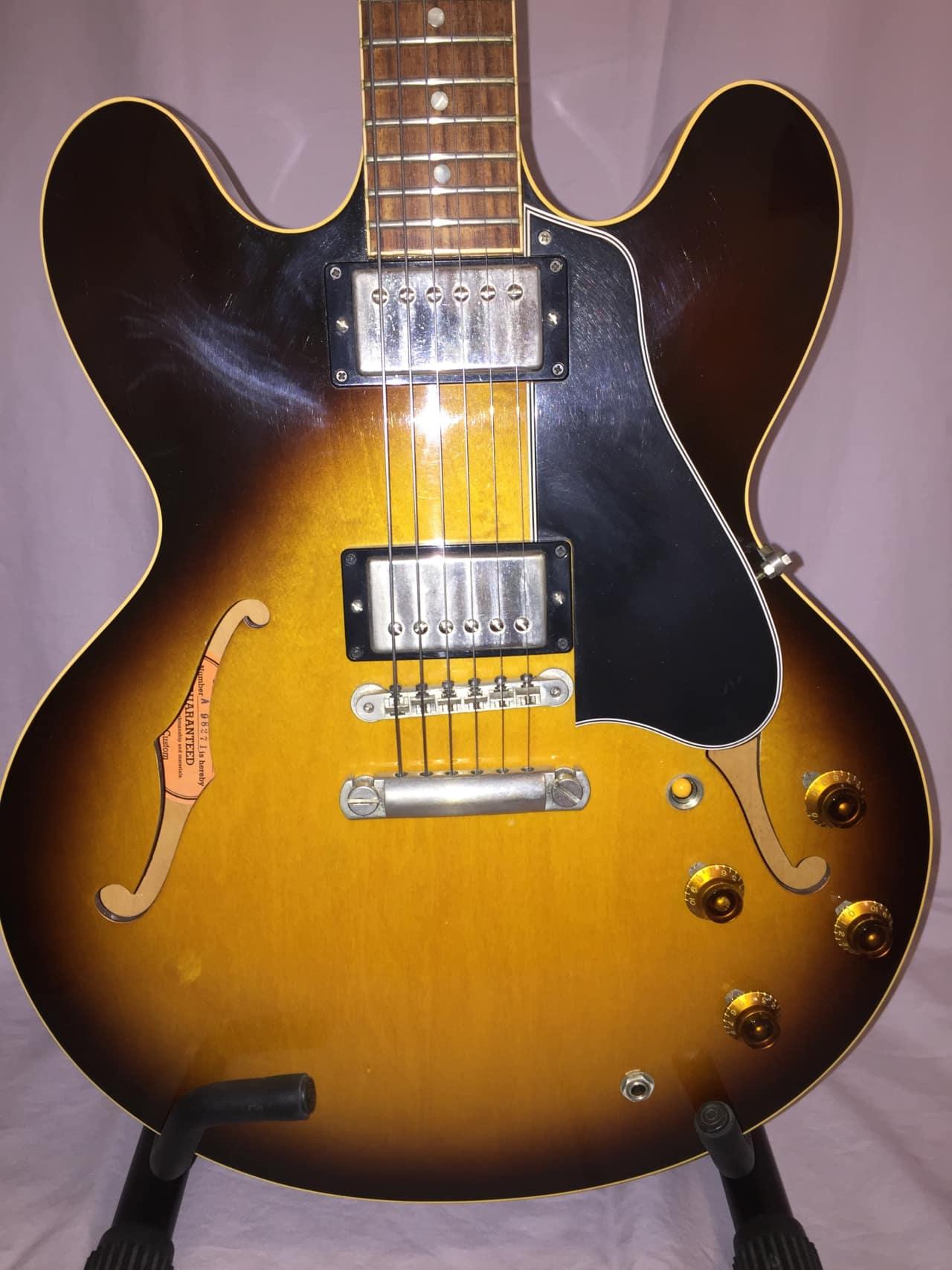 gibson custom shop nashville 1959 es 335 electric guitar reverb. Black Bedroom Furniture Sets. Home Design Ideas