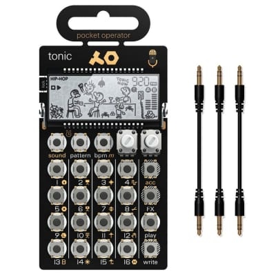 Teenage Engineering PO-32 Tonic with MC-3 Sync Cables