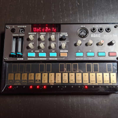 Korg Volca FM, Like New, In Box w/ MIDI Cable