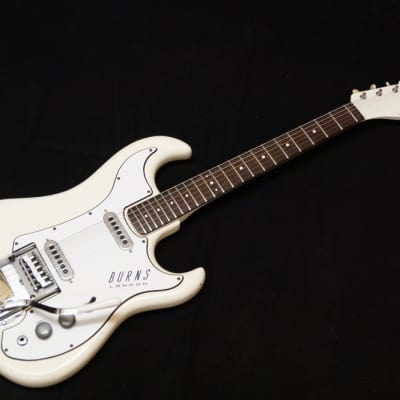 Burns Short Scale Jazz 1964 white for sale