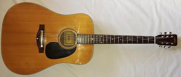 vintage mij aria a 620 acoustic guitar reverb. Black Bedroom Furniture Sets. Home Design Ideas