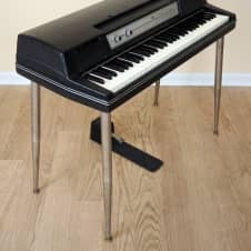 1976 Wurlitzer 200A Vintage Electric Piano Black Serviced & Tuned w/ Legs & Pedal, 200