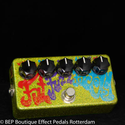 Zvex Fat Fuzz Factory - Special Sparkly Edition, as used by the great legendary Matt Bellamy MUSE
