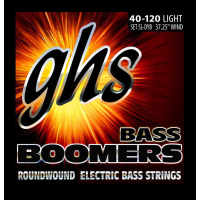 GHS 5LDYB 40-120 5-String Bass Strings
