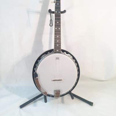 Danville 5-String Banjo-Model BJ30-30 Brackets-NEW-Shop Setup Included!