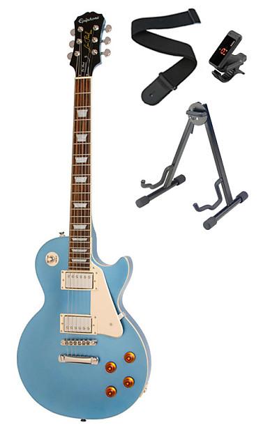 Epiphone Les Paul Standard Electric Guitar Pelham Blue And Reverb
