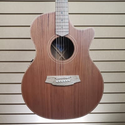 Cole Clark Angel 2EC Acoustic-Electric Guitar in Redwood/Blackwood w/OHSC + FREE Shipping for sale