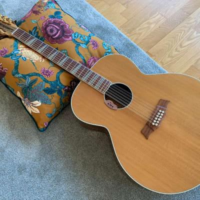 Rickenbacker 700/12 Shasta 1999 Natural 12-String Acoustic w/ E3 Pickup for sale