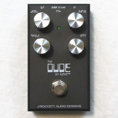 Used J Rockett Audio Designs The Dude V2 Overdrive Guitar Effects Pedal for sale