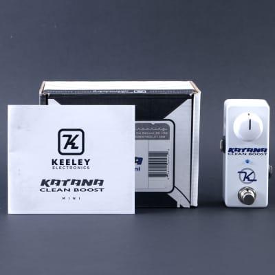 Keeley Katana Mini Boost Guitar Effects Pedal P-11170