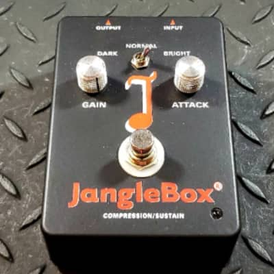 JangleBox Compression/Sustain Pedal Compressor FREE SHIPPING image