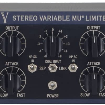 New Manley Labs Stereo Variable Mu Limiter Compressor