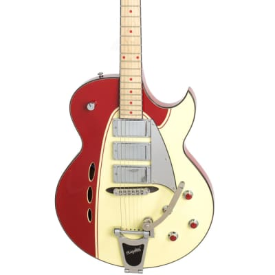 Backlund Rockerbox DLX - Red/Creme for sale