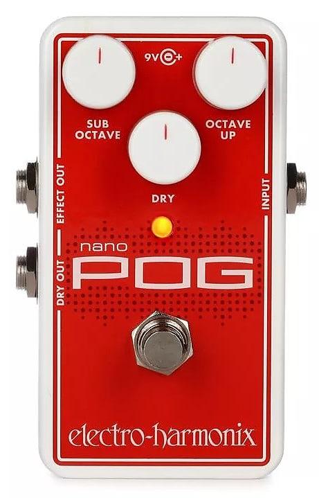 electro harmonix ehx nano pog polyphonic octave generator reverb. Black Bedroom Furniture Sets. Home Design Ideas