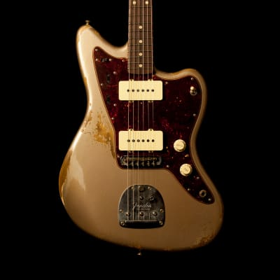 Fender Jazzmaster '62 Heavy Relic Shoreline Gold for sale