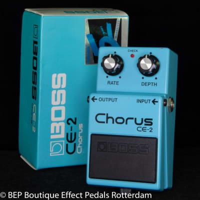 Boss CE-2 Chorus 1989 s/n AA47371 as used by Josh Klinghoffer, Johnny Marr, Jimmy Page