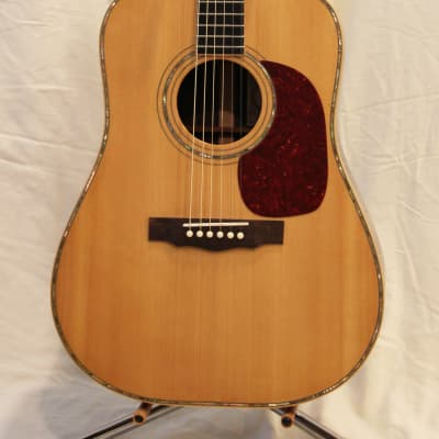 James Patterson Dreadnought with Abalone Inlay for sale