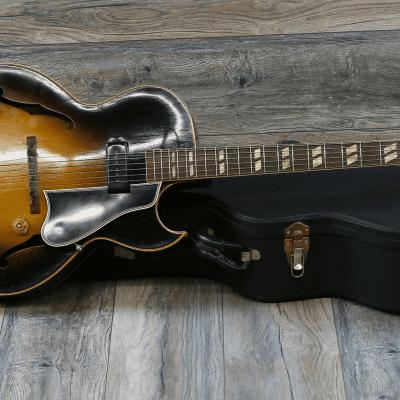Super Clean! Vintage Gibson ES-175 1953 Sunburst P90 + Hard Case ES175 for sale
