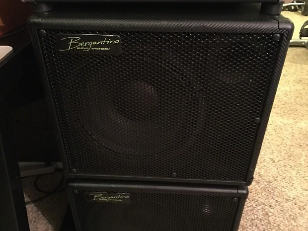Bergantino CN112 Bass Speaker Cab Black W Padded Cover