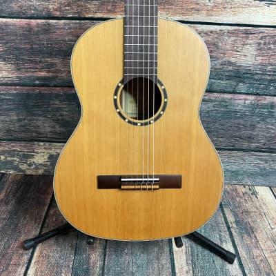 Ortega Left Handed R131L Family Series Pro Nylon String Acoustic Guitar for sale