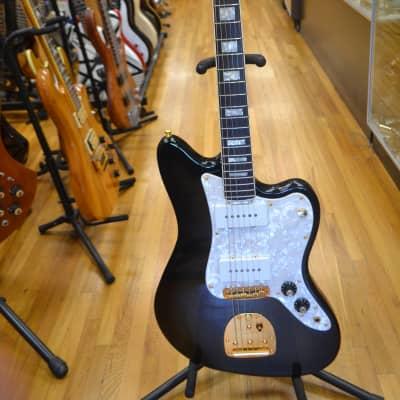 Fender Ventures Jazzmaster w/Case Candy 1996 Black burst for sale