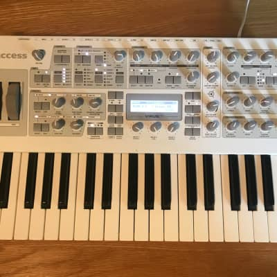 Access Virus TI2 Polar 37-Key Digital Synthesizer with Carrying Case