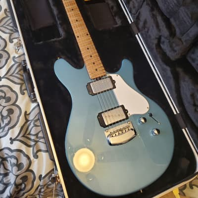 Ernie Ball Music Man James Valentine Signature Tremolo with Roasted Maple Neck 2018 Toluca Lake Blue for sale