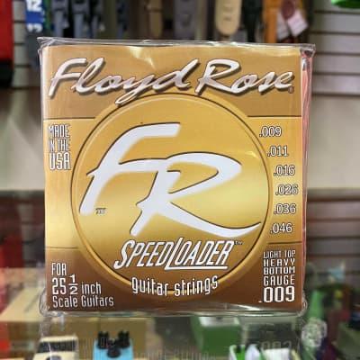 Floyd Rose Speedloader 9-46 Strings 2002 Gold for sale
