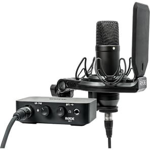 RODE NT1-AI1 Complete Studio Kit with NT1 Microphone and AI-1 Interface
