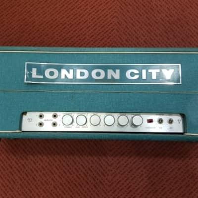 London City Super Amplifier MK V 100W 1960s vert for sale