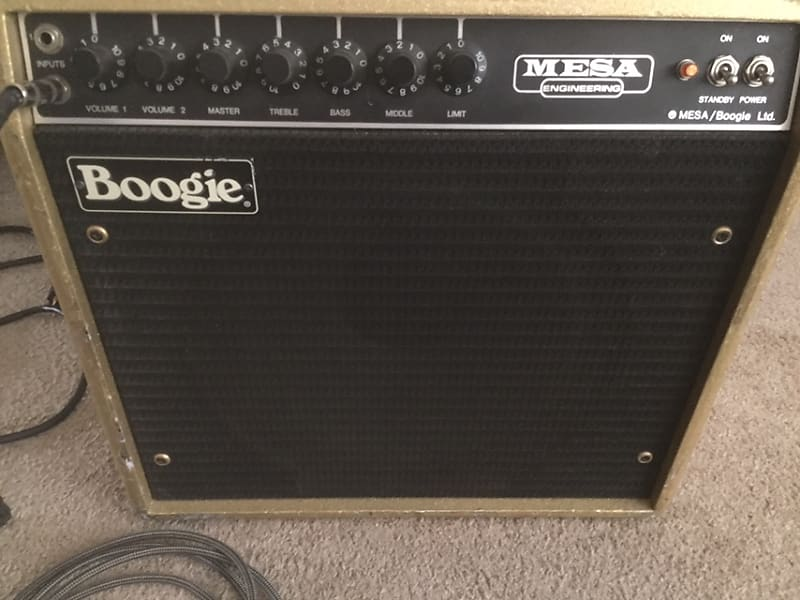 Mesa Boogie Son Of Boogie S O B Mk I 1983 Black Reverb