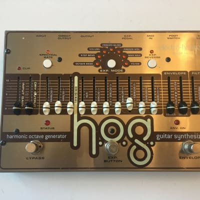 Electro Harmonix HOG Harmonic Octave Generator Synthesizer Guitar Effect Pedal