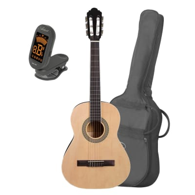 Artist CB3 3/4 Size Classical Nylon String Guitar + Bag and Tuner for sale