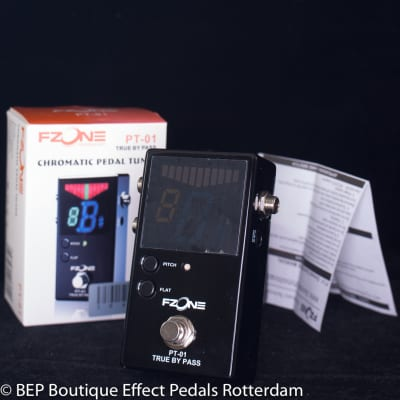 FZone PT-01 True By Pass Chromatic Pedal Tuner