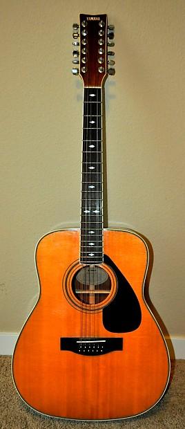 yamaha 12 string acoustic guitar fg 612s reverb. Black Bedroom Furniture Sets. Home Design Ideas