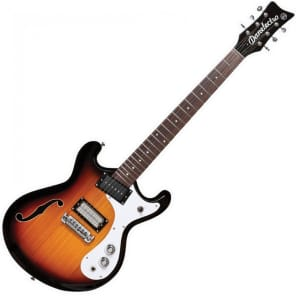 DANELECTRO 66 GUITAR - 3 TONE SUNBURST for sale