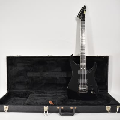 2002 ESP Jeff Hanneman Slayer Signature Model Black Finish Electric Guitar wOHSC for sale