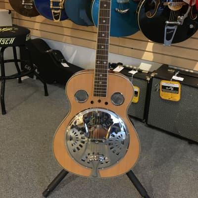 Danville RDL-70 Natural 2020 Round Neck Resonator Acoustic Guitar