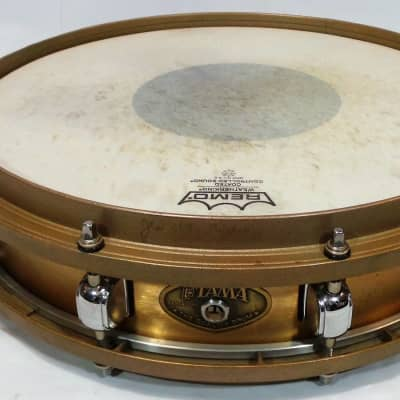 "Tama PL-5325N Power Metal Bell Brass 3.25x14"" Piccolo Snare Drum 1999 - 2002"