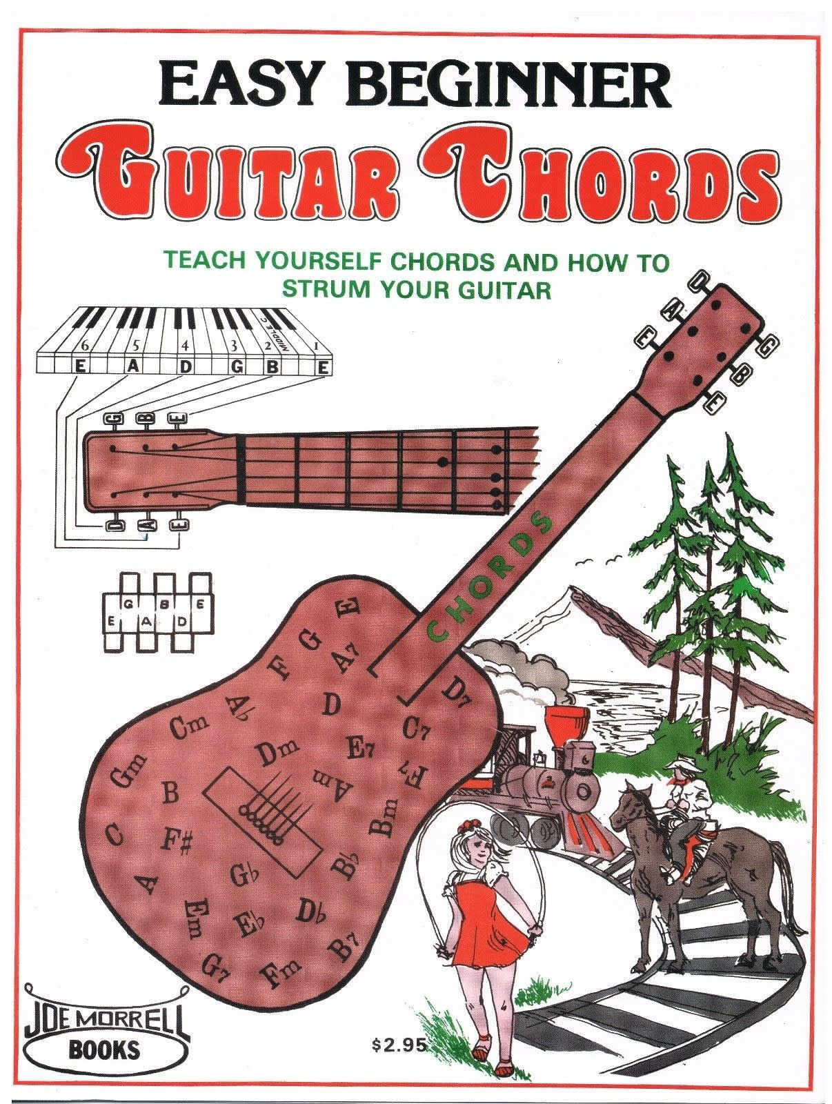 Easy Beginner Guitar Chords Instruction Book Learn To Play Reverb